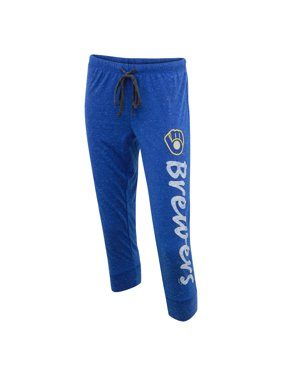 3ba4f1947c Product Image MLB Women's Milwaukee Brewers Retro Knit Capri Pants