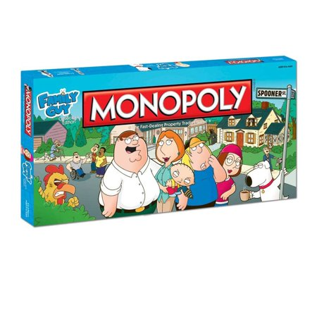 Monopoly Family Guy Collector's Edition - Monopoly Guy Halloween