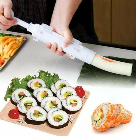Sushi Roll Maker Making Kit Mold Sushezi Rice Roller Mould Kitchen DIY Set USShi