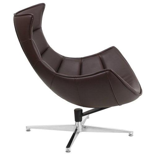 Orren Ellis Wheatley Leather Lounge Chair