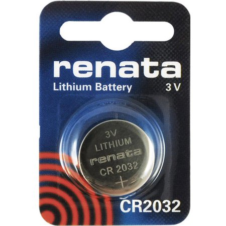 Renata CR2032 3V Lithium Coin Battery on Mini Blister Pack - 10 Pack + 30% (Kts Lithium Battery Cr2032 Price In India)