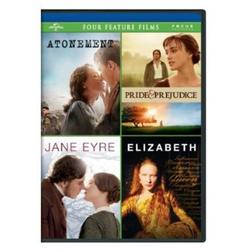 Atonement / Pride And Prejudice / Jane Eyre / Elizabeth (Anamorphic Widescreen)