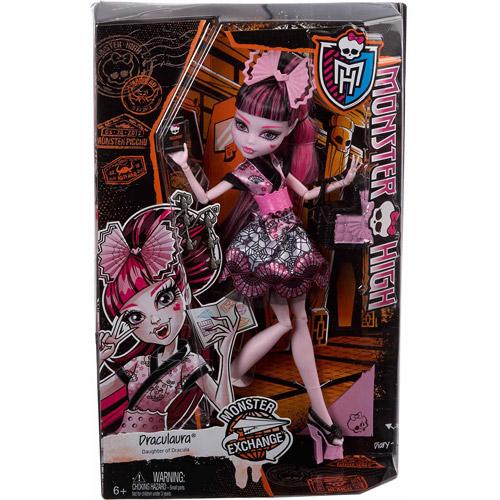 Monster High Monster Exchange Draculaura Doll by