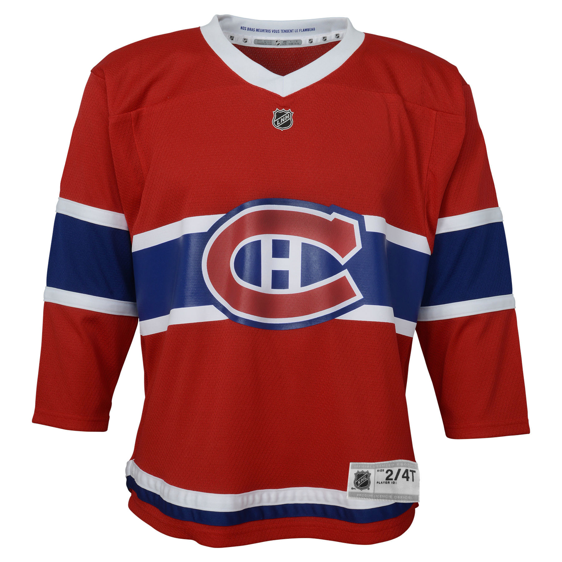 Montreal Canadiens NHL Toddler Replica (2-4T) Home Hockey Jersey - NHL Team  zoomed image 6b0be57f58b