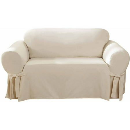 Sure Fit Cotton Duck Loveseat (Loveseat Cover)