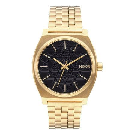 - A0452478 Time Teller Gold Black Stamped Steel Watch
