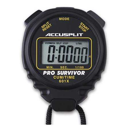 Printing Stopwatch - Accusplit Pro 601X Stopwatch