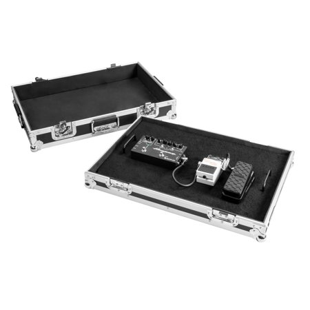 OSP FX1624 24in Guitar Effects Pedal Board with ATA Case (Osp Ata Case)