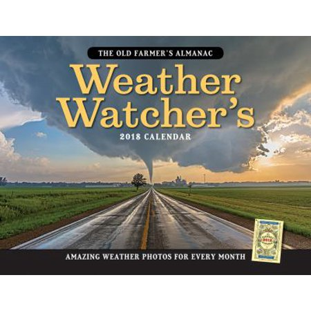 The Old Farmers Almanac Weather Watchers 2018 Calendar