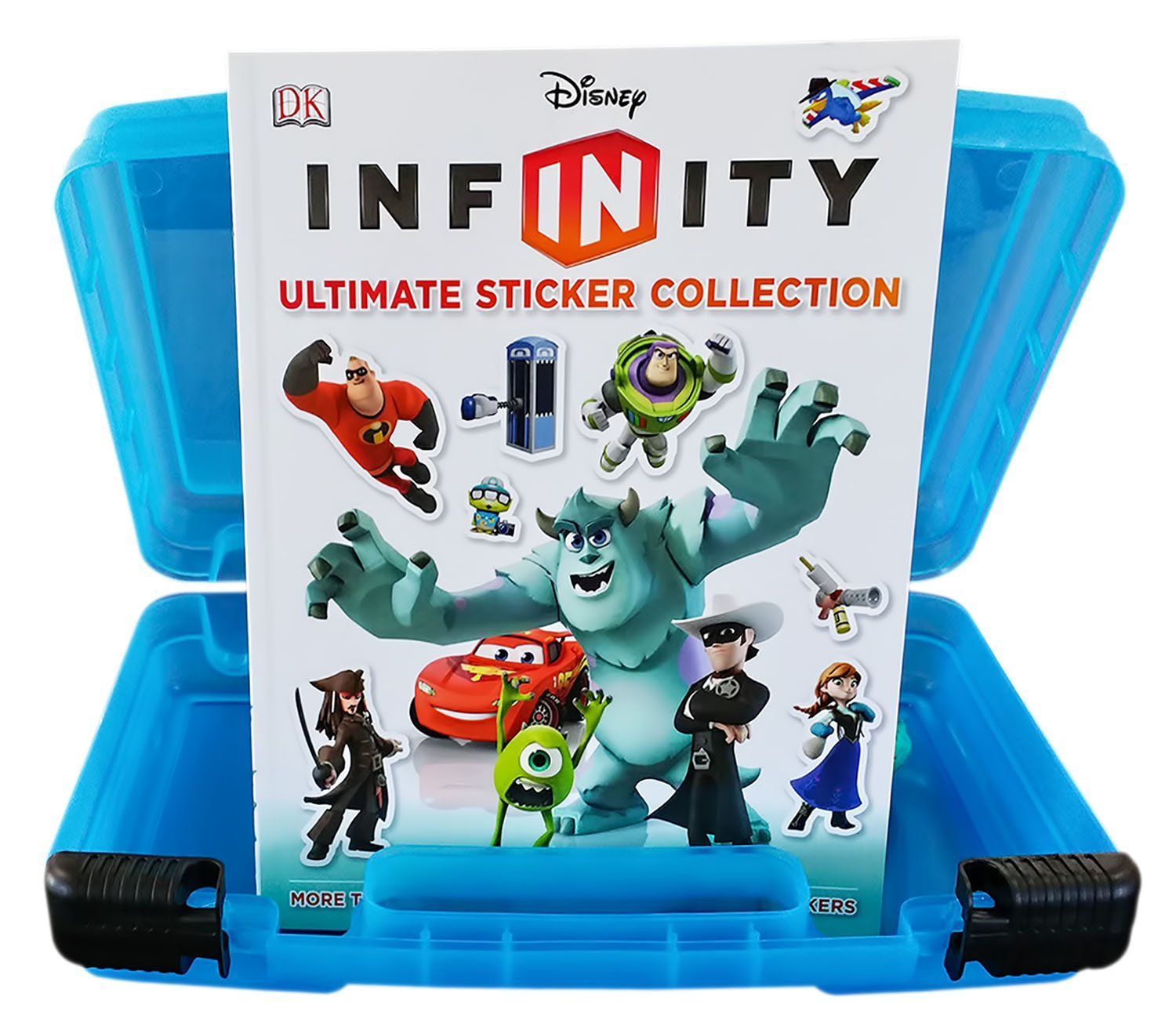 Official Disney Infinity Sticker Book + Video Game Character Compatible Storage Organizer. Minifigure Storage... by Life Made Better