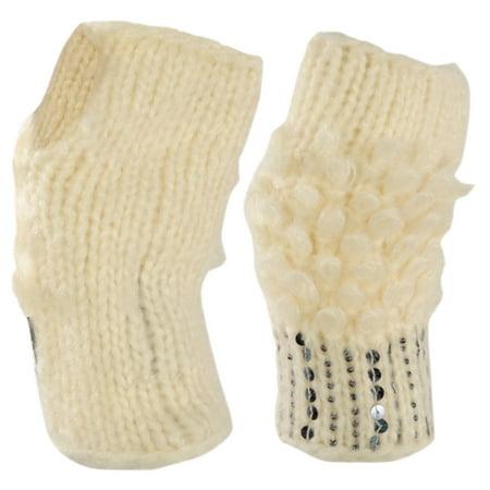 American Rag Women's Crafty Knit Fingerless Fashion Winter Gloves