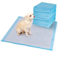 Costway 150 PCS Puppy Pet Pads Dog Cat Wee Pee Piddle Pad Training Underpads (30'' x 30'')