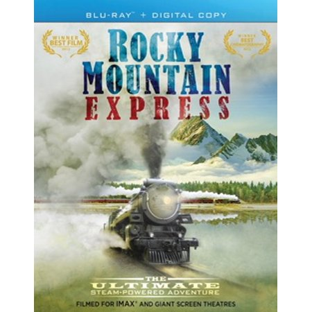 IMAX: Rocky Mountain Express (Blu-ray) Bierstadt The Rocky Mountains