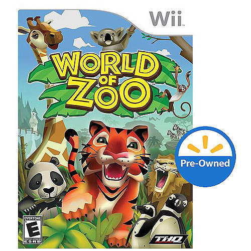 World Of Zoo (Wii) - Pre-Owned