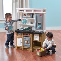 Step2 Lifestyle Custom Play Kitchen with 20 Piece Accessory Set