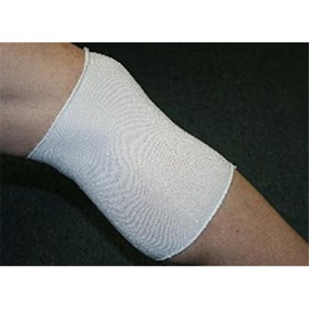 Indogem 736021U Copper Yarn Knee Compression Sleeve  44  White   Universal