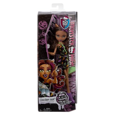 Monster High Freaky Fild Trp Clawdeen Dl
