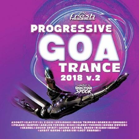 Progressive Goa Trance 2018 Vol 2 / Various (CD) - Dj Trance Halloween