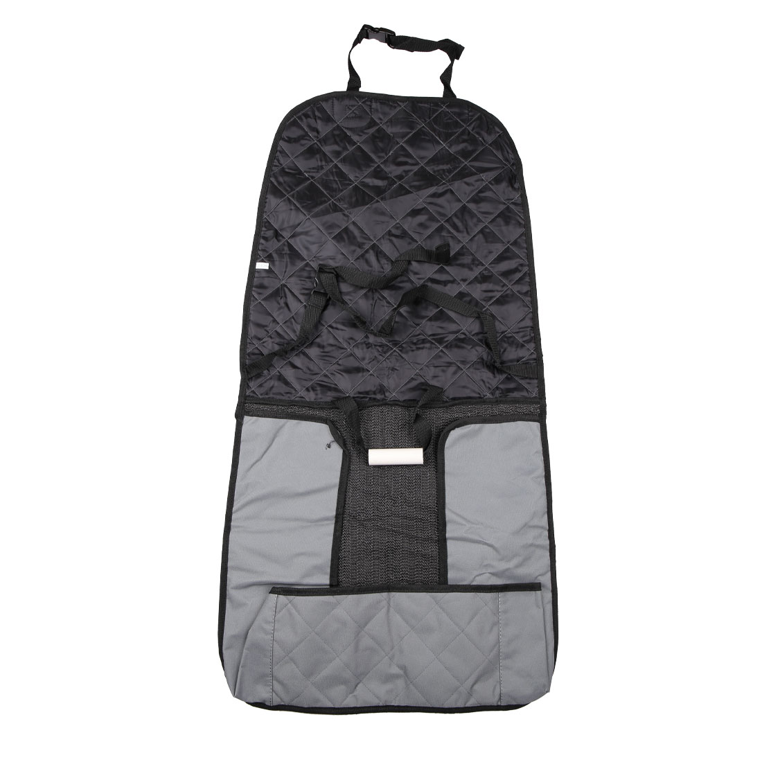 Gray Pet Dog Car Rear Back  Waterproof Cushion Cover Blanket Protector