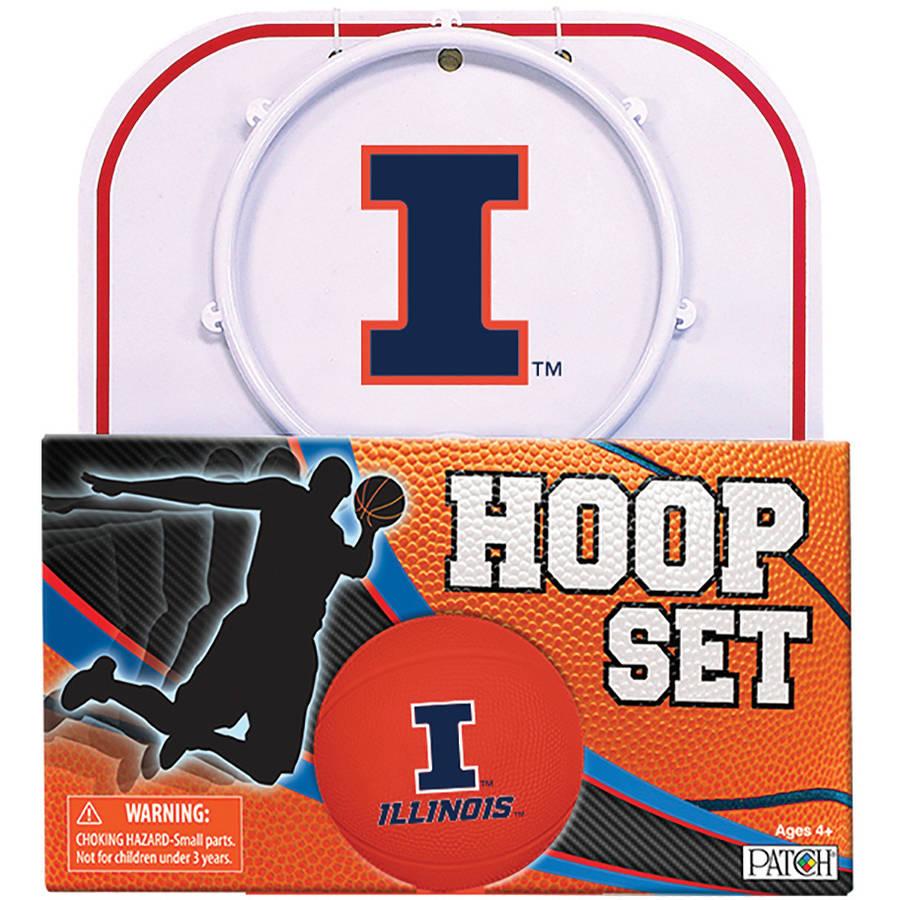 Officially Licensed NCAA Illinois Hoop Set