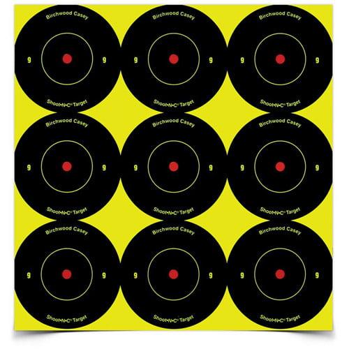"""Birchwood Shoot-N-C 2"""" Bull's-Eye, 108 Targets"""