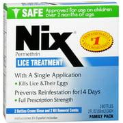 Nix Lice Treatment Family Pack 4 oz