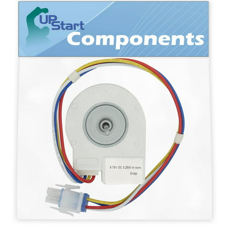 WR60X10185 Evaporator Fan Motor Replacement for General Electric Refrigerators - Compatible with Part Number AP3875639, 1170107, 197D2039P007, 197D2039P008, AH1019114, EA1019114, (Electric Part Number)