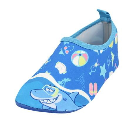 Kid Baby Boys&Girls Sea Shark Beach Snorkel Socks Swimming Diving Child comfortable Shoes