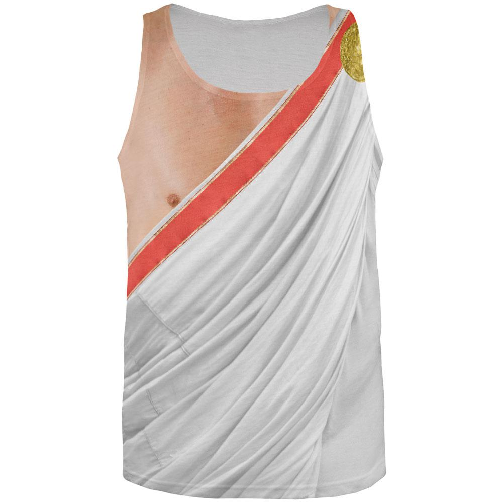 Roman Toga Costume All Over Adult Tank Top