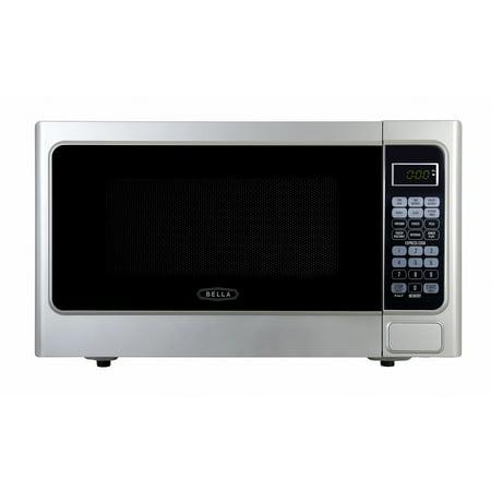 Bella bmo11abtplb 11 cubic foot 1000 watt microwave oven bella bmo11abtplb 11 cubic foot 1000 watt microwave oven platinum sciox Images