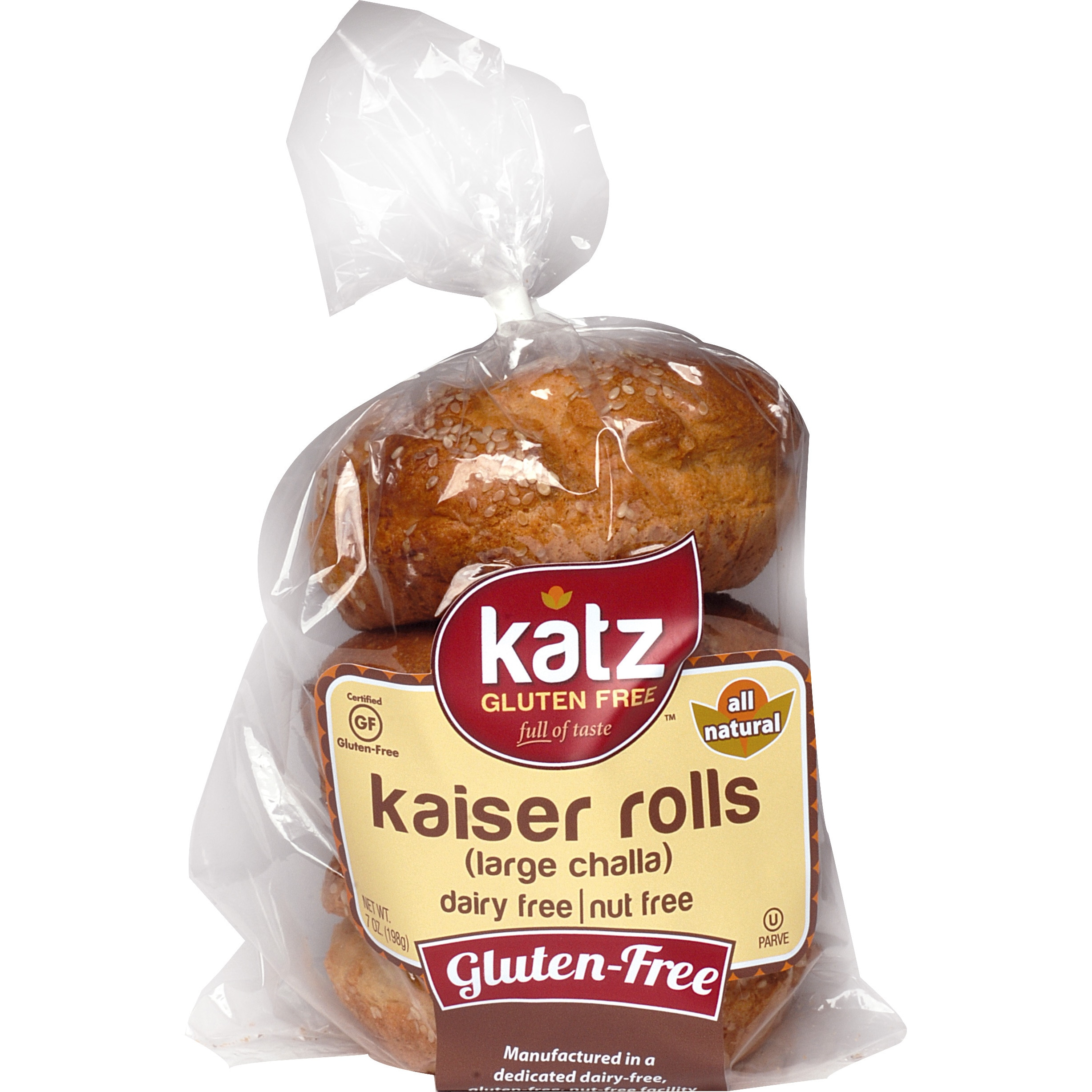 Rolls Challah Large Gf (Pack of 6) by Overstock