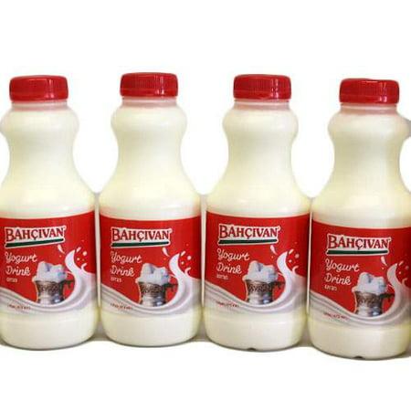 Bahçıvan Yogurt Drink - 16oz x 4 bottles