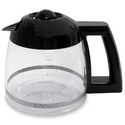 Black Coffee Glass Carafe 10 Cup Cuisinart DGB-475, DGB-475BK by