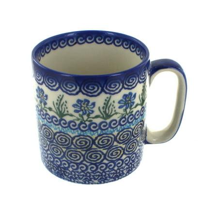 Polish Pottery Charleston Coffee Mug (Pottery Barn Charleston)