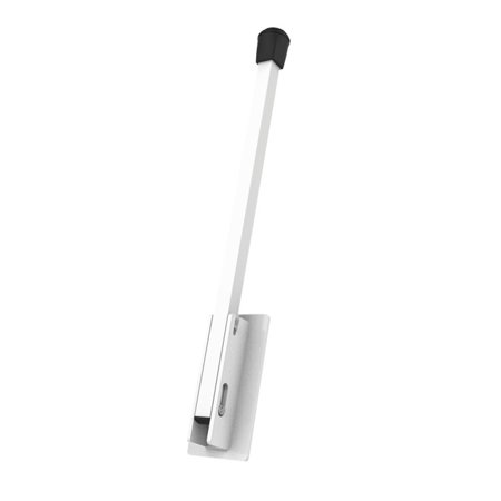 Pull and Drop Extended Length Door Stop (White)