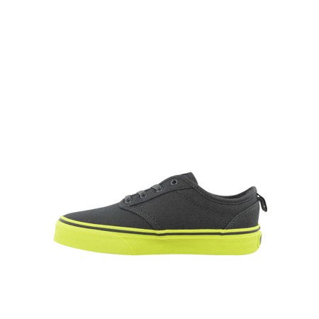 Vans Boys Atwood Canvas Low Top Lace Up Boat - How Lace Vans