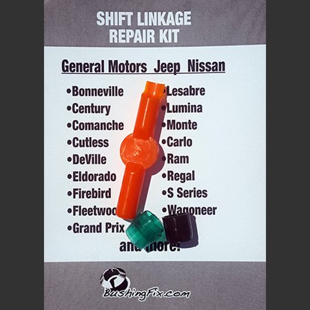 Chevrolet Lumina Automatic shift cable repair kit with replacement Bushing Shift Cable Bushing Kit 1994 Chevrolet Lumina Minivan