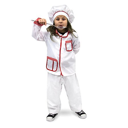 Boo! Inc. Master Chef Children's Halloween Dress Up Party Roleplay Costume (Boo Crew Halloween Party Supplies)