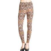 Assorted Designed Graphic Patterned Leggings