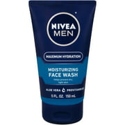 NIVEA Men Maximum Hydration Moisturizing Face Wash, 5 fl. oz.
