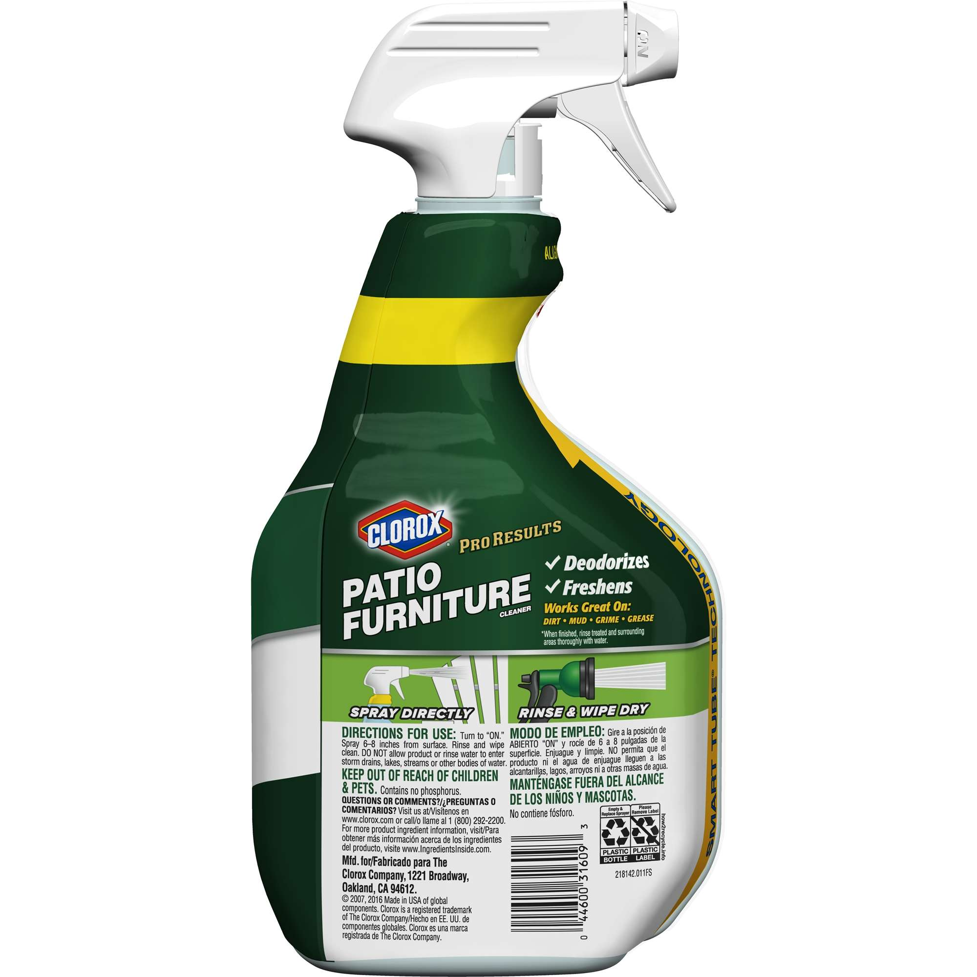 Clorox Pro Results Patio Furniture Cleaner 32 oz Walmart