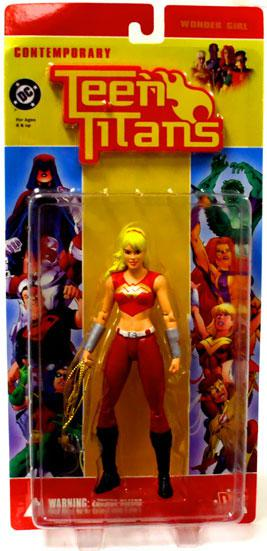 DC Teen Titans Contemporary Teen Titans Series 1 Wonder Girl Action Figure by