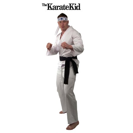 Karate Kid Daniel-San Deluxe Costume Adult - Karate Costumes For Kids