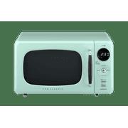 Daewoo Kor07r3zem Retro Iii Countertop Microwave Oven 0 7 Cu Ft 700w Mint