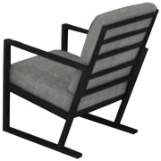 Seasonal Trends 60039 Dining Chair With Cushion, 21-1/2 in H x 25 in W x 39-1/2 in D