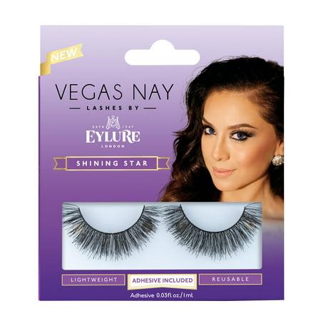 (2 Pack) Vegas Nay by Eylure Shining Star Eyelashes Kit, 2 -