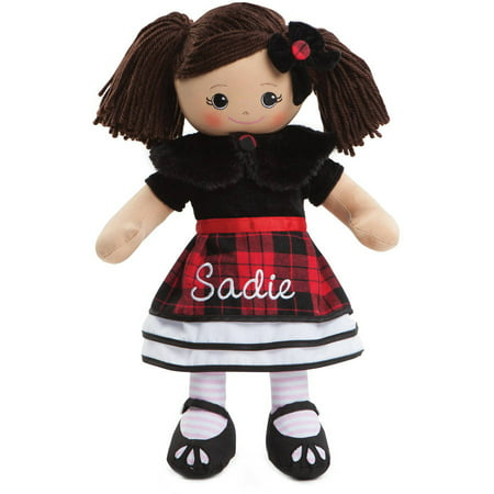 Personalized Rag Doll With Winter Dress](Broken Rag Doll)