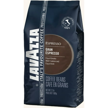LAVAZZA LAGRAND 1BAG - 2134 Grand Espresso, 2. 2lb Bag, Beans - 2134