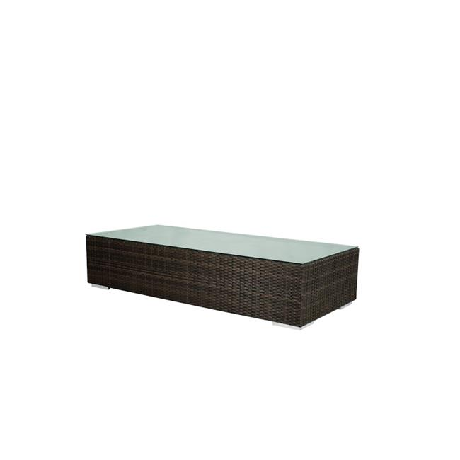 Source Outdoor SO-2001-311-ESP King Rectangular Shaped Coffee Table in Espresso by Source Outdoor