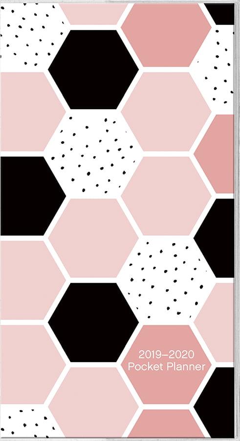2019 Honeycomb Pocket Planner by Trends International